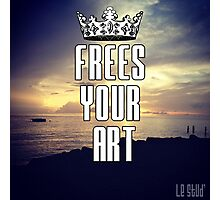 FYA - Frees Your Art #3 Photographic Print