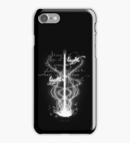 May it be a light... iPhone Case/Skin