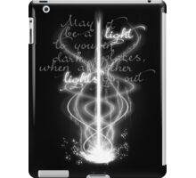 May it be a light... iPad Case/Skin