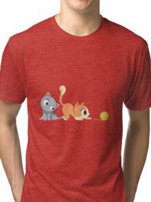 sweet kittens Tri-blend T-Shirt