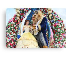 Beauty and the Beast Fantasy Parade Canvas Print