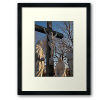 Jesus and Mother Mary Framed Print