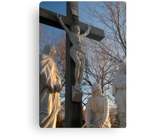 Jesus and Mother Mary Metal Print