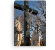 Jesus and Mother Mary Canvas Print