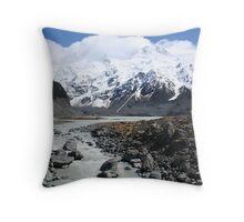 Mount Cook National Park  Throw Pillow