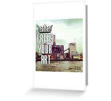 FYA - Frees Your Art #2 Greeting Card