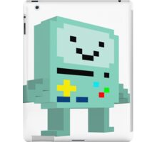 8 bit B-mo iPad Case/Skin