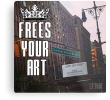 FYA - Frees Your Art #4 Metal Print