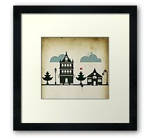 Casitas Framed Print