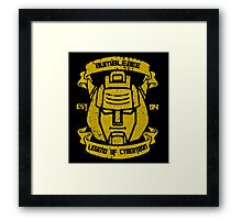 Legend Of Cybertron - Bumblebee Framed Print