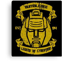 Legend Of Cybertron - Bumblebee Canvas Print