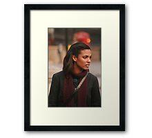 Freema Agyeman AKA Martha Jones Framed Print
