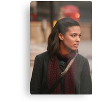 Freema Agyeman AKA Martha Jones Metal Print