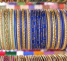 Indian Bangles Blue by Prajakta-P