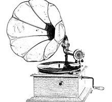 Gramophone by soulysart
