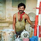 The Chai Walah (The Tea Maker) by Biren Brahmbhatt