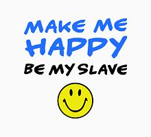 be my slave Womens Fitted T-Shirt