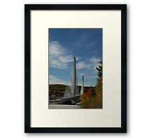 Bridge to Verona Island, Maine Framed Print
