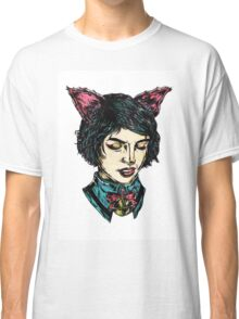 Cat Girl - I think I have Super Powers Classic T-Shirt