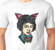Cat Girl - I think I have Super Powers Unisex T-Shirt