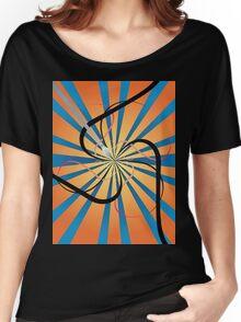 Swirly art Women's Relaxed Fit T-Shirt