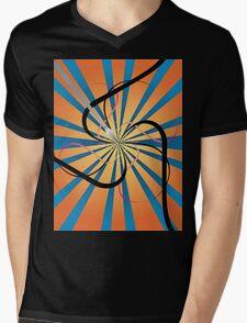 Swirly art Mens V-Neck T-Shirt