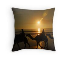Siloughette Caravan Throw Pillow