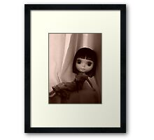 Sepia Darling Framed Print