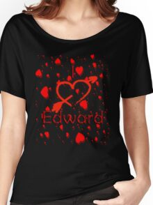 I Love Edward Women's Relaxed Fit T-Shirt