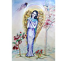 I Believe in Angels Photographic Print