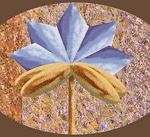 The Hidden Flower 5 by Thecla Correya