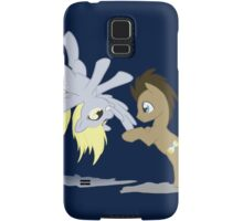 Derpy and Doctor Whooves Samsung Galaxy Case/Skin