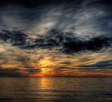December Sunset at Herring Cove by Alyeska