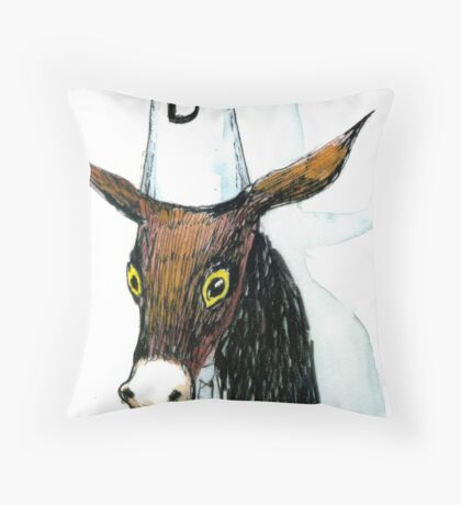 Dumb Ass Throw Pillow