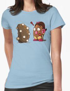 Potato Potaato Womens Fitted T-Shirt