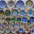 Colourfull Plates by Robert Abraham