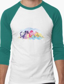 Sleepy Ponies with Background T-Shirt