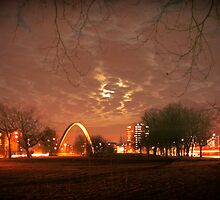 Hulme in the Moon by borstal