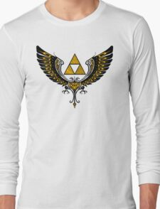 Tri Winged Long Sleeve T-Shirt