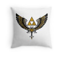 Tri Winged Throw Pillow