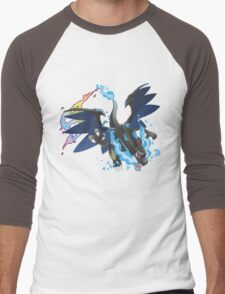 Mega Charizard X Men's Baseball ¾ T-Shirt