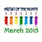 Artist of the month - March 2015