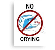 Don't Cry Over Spilt Milk Canvas Print
