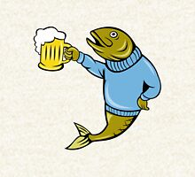 Retro Fishing and Beer T Shirt Hoodie