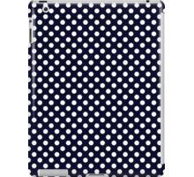 Midnight Blue Polka Dots iPad Case/Skin