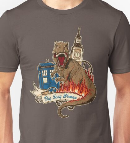 Doctor Who - Big Sexy Woman Unisex T-Shirt