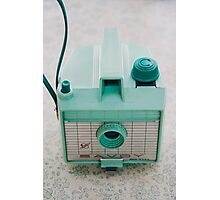 Mint Green Savoy Photographic Print