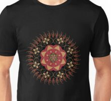 Dark brown ornament 4 Unisex T-Shirt