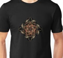 Dark brown ornament 5 Unisex T-Shirt