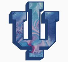 Indiana University Water Marble Logo by daw12021996